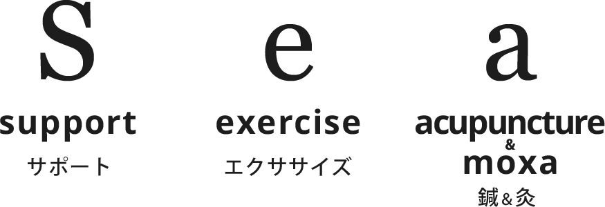 support exercise acupuncture&moxa